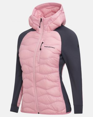 Peak Performance Helium Hybrid Jacket Women Frosty Rose