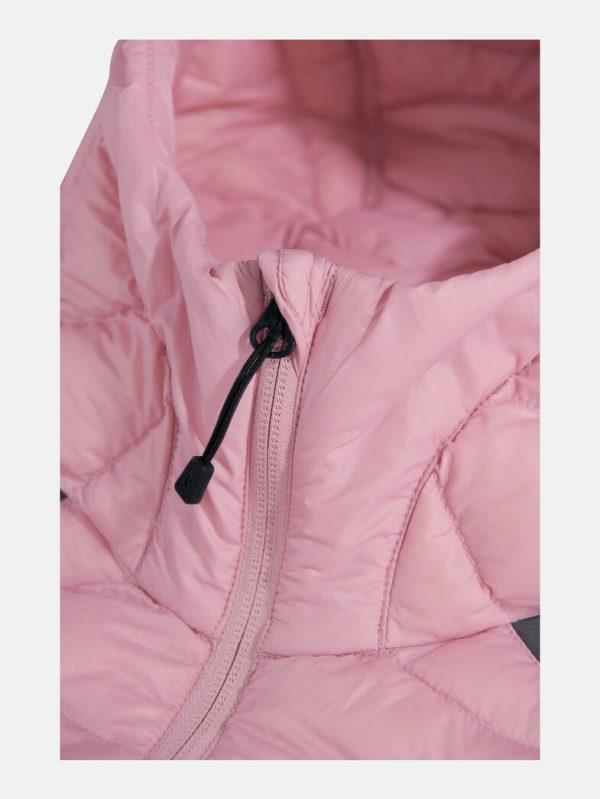Peak Performance Helium Hybrid Jacket Women Frosty Rose