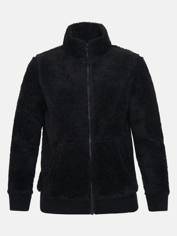 Peak Performance Original Pile Zip Jacket Junior Black