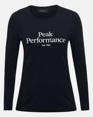 Peak Performance Original Ls Women Black