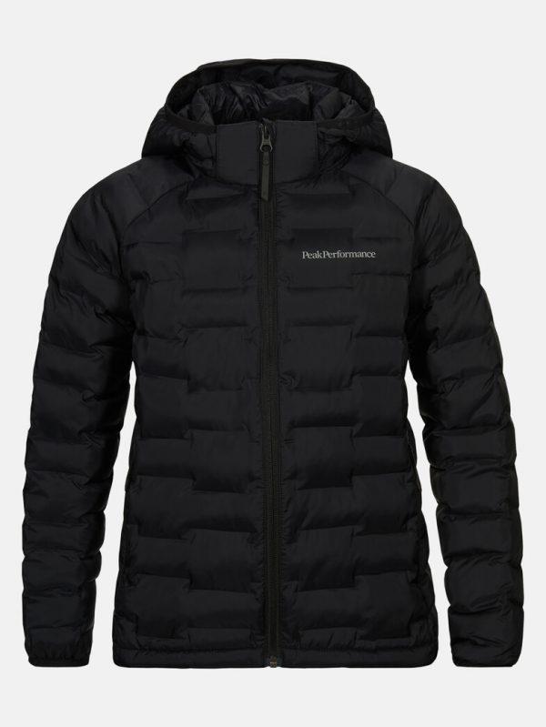 Peak Performance Junior Argon Light Jacket Black
