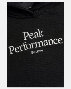 Peak Performance Original Hoodie Junior Black