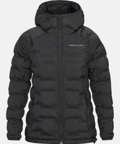 Peak Performance Argon Hood Jacket Women Black