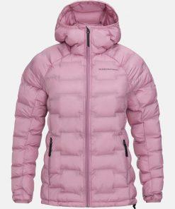 Peak Performance Argon Hood Jacket Women Frosty Rose