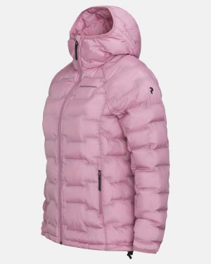 Peak Performance Argon Hood Jacket Women Frosty Rose