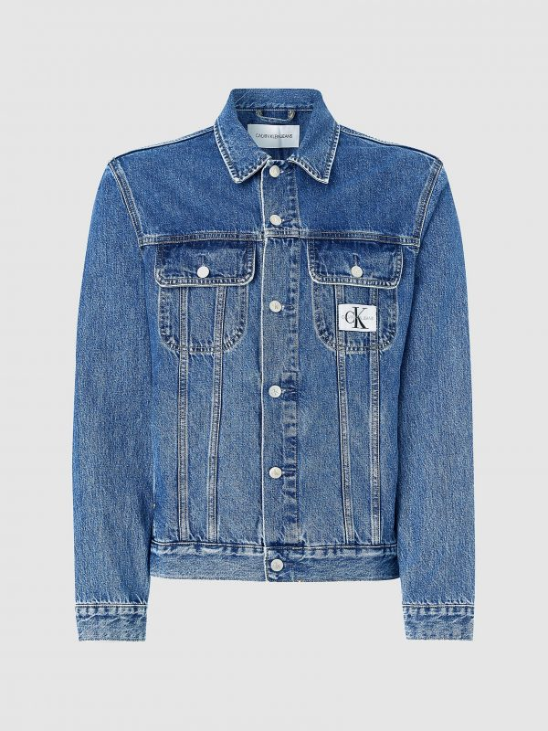 Calvin Klein 90s Denim Jacket Mid Blue