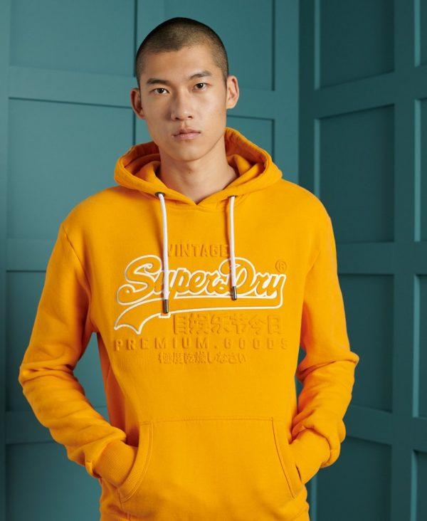 Superdry Emboss Hood Alaska Gold