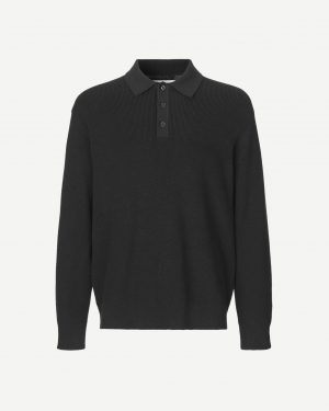 Samsoe & Smasoe Clyde Polo Black