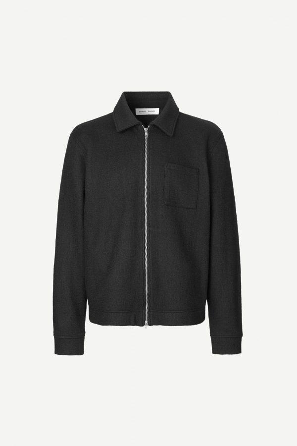 Samsoe & Samsoe Kaitos Zip Jacket Black
