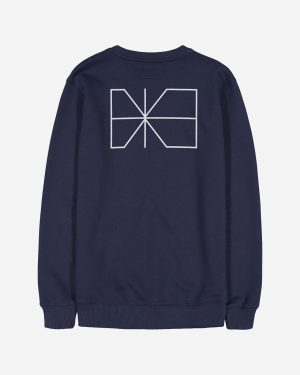 Makia Trim Sweatshirt Dark Blue