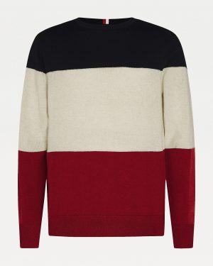 Tommy Hilfiger Color-Block Jumper Arizona Red