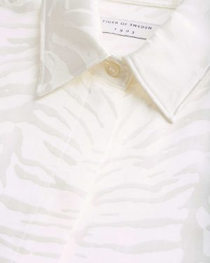 Tiger of sweden Narkisa Shirt Cream