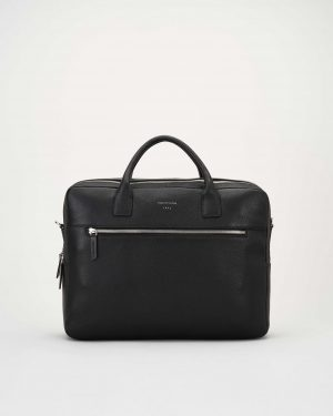 Tiger of Sweden Beridare Briefcase Black