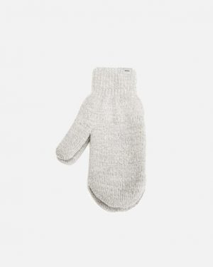 Makia Wool Mittens Grey