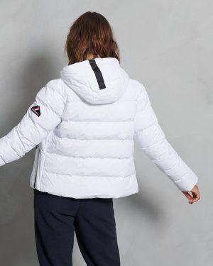Superdry Spirit Sports Puffer Jacket White