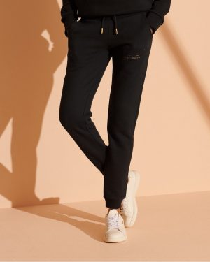 Superdry Established Joggers Black