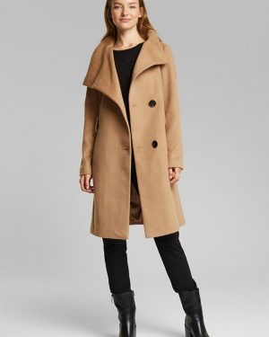 Esprit Wool Coat Camel
