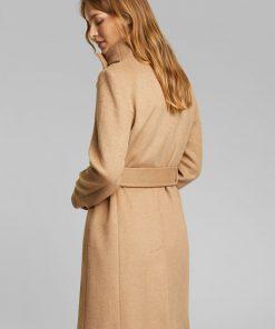 Esprit Wool Coat Camel