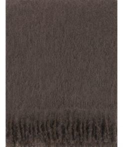 Lapuan Kankurit Saaga Uni Mohair Blanket Brown