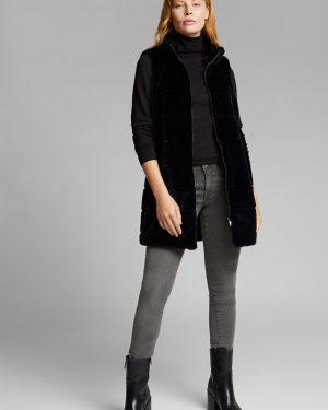 Esprit Long Vest Black