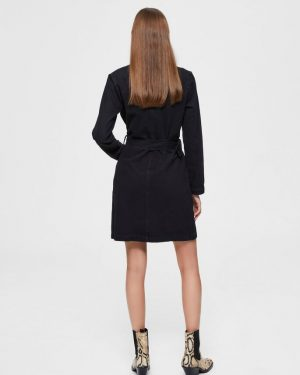 Selected Femme Blazer Denim Dress