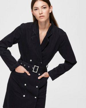 Selected Femme Blazer Denim Dress