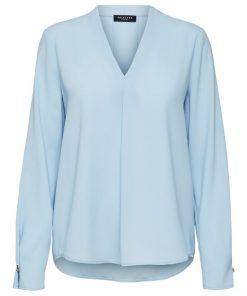 Selected Femme Luna Top Cashmere Blue