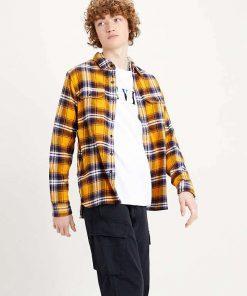 Levi´s Jackson Worker Shirt Golden Yellow