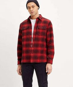 Levi´s Jackson Worker Shirt Ametrine Molten Lava