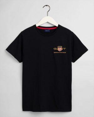 Gant Archive Shield T-shirt Black