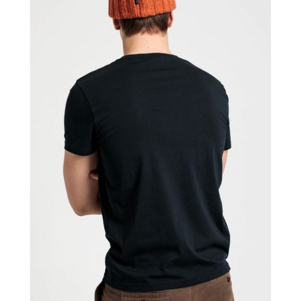 Gant Lock-Up T-shirt Black