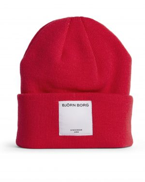 Björn Borg Harley Hat High Risk Red