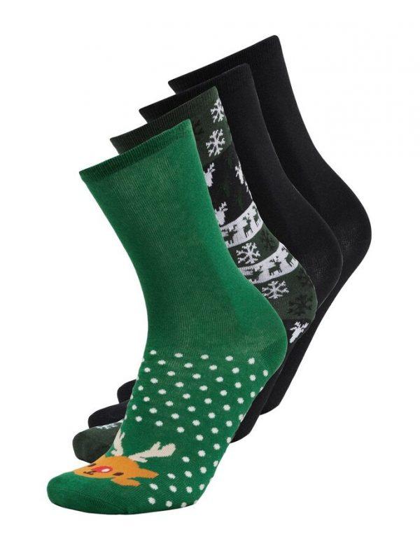 Only & Sons Christmas Socks 4-Pack