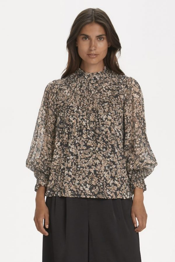 Part Two Fanny Blouse Winter Berry