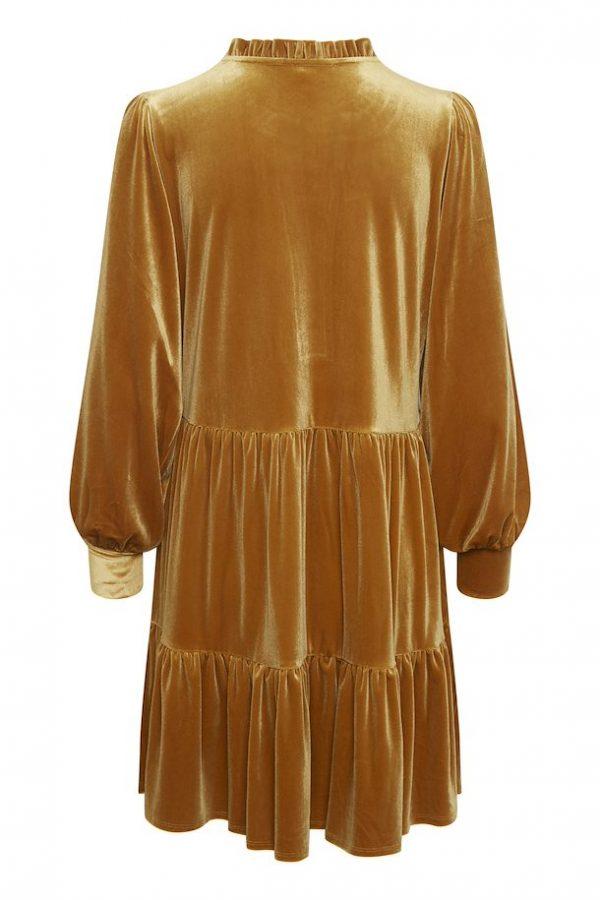 Part Two Viggase Dress Roasted Pecan