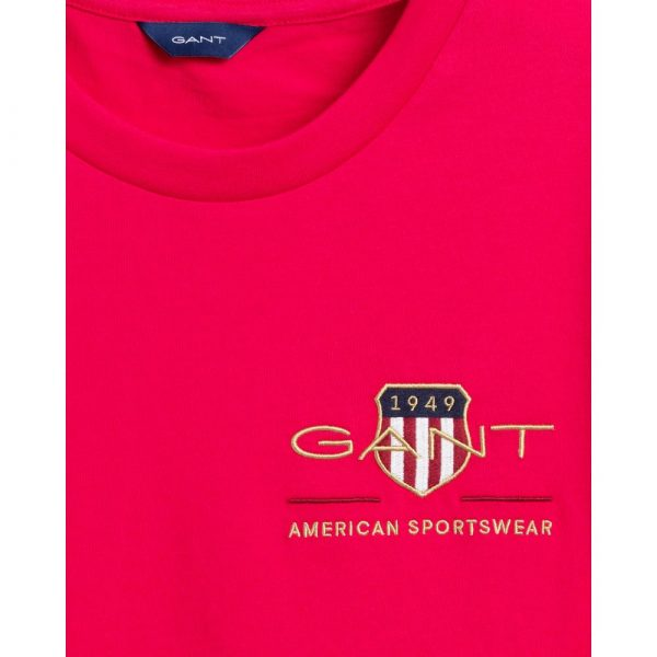 Gant Woman Archive Shield T-shirt Love Potion