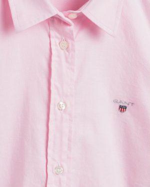 Gant Woman Oxford Solid Shirt Light Pink
