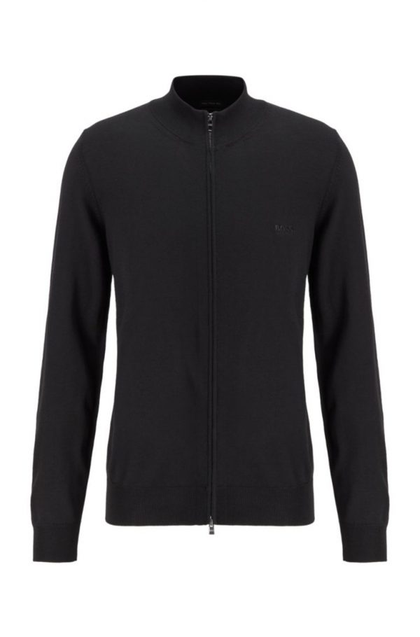 Hugo Boss Balonso Cardigan Black