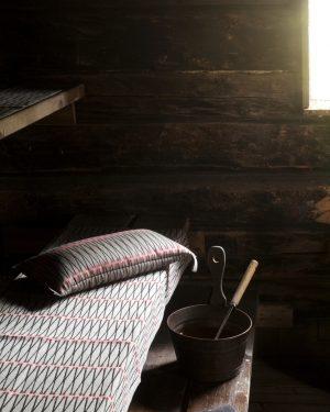 Lapuan Kankurit Tulitikku Sauna Cover 46 x 150 cm