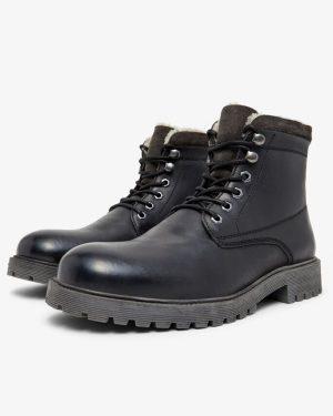 Bianco Biadaren Warm Boot Black