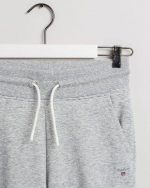 Gant Teen Boys Original Sweat Pants Light Grey Melange