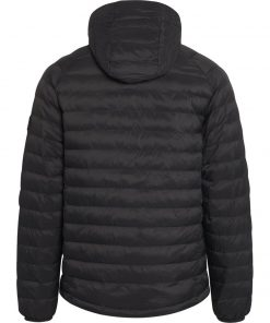 Knowledge Cotton Apparel Eco Active thermore hood Jacket Black