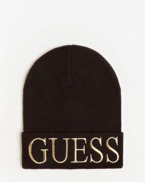 Guess Logo Beanie Black
