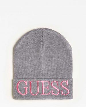 Guess Logo Beanie Grey