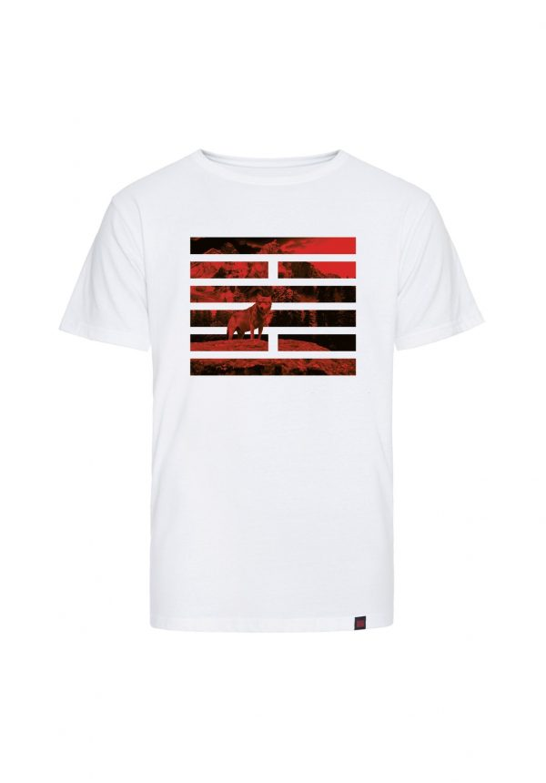 Billebeino Wolf Brick T-shirt White