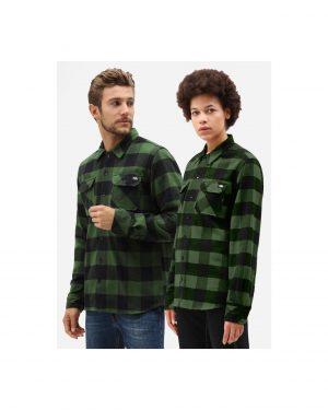Dickies Sacramento Relaxed Long Sleeve shirt Green