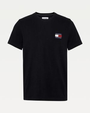 Tommy Jeans Tommy Badge Tee Black