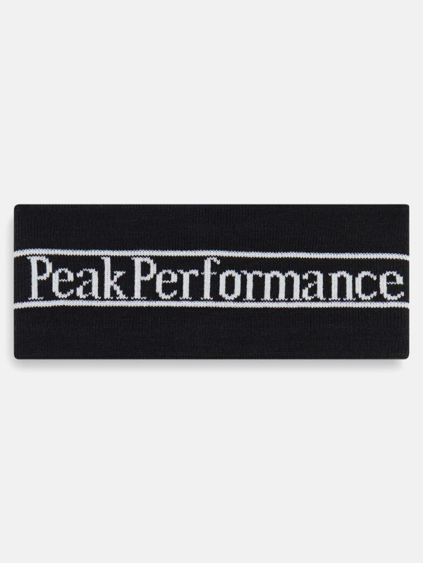 Peak Performance Pow Headband Black