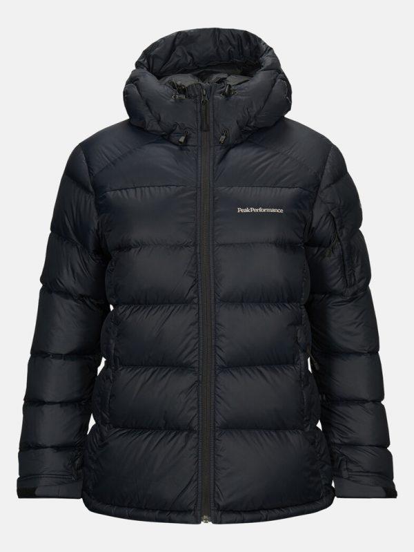 Peak Performance Frost Down Jacket Women Black