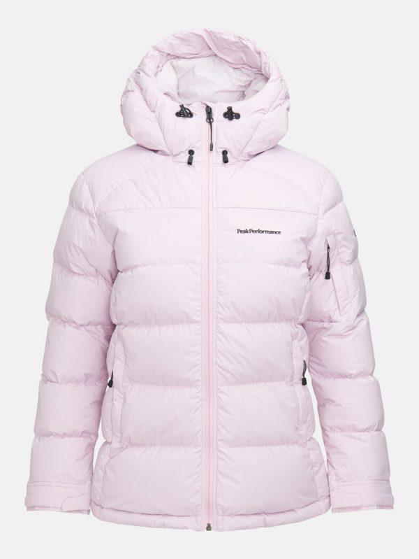 Peak Performance Frost Down Jacket Cold Blush